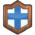 Clash Royale Bronze 1 - Clan Shield Logo